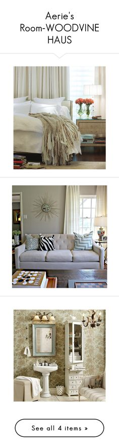 """""""Aerie's Room-WOODVINE HAUS"""" by fez13 ❤ liked on Polyvore"""