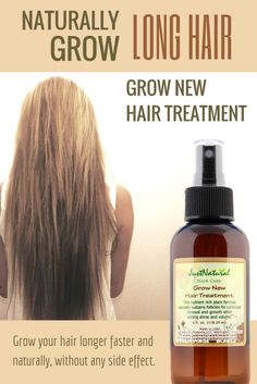 Grow New Hair / This ultra-concentrated grow new hair treatment is made all with nutritive ingredients in the purest state, a small amount will go a long way. One bottle has enough product to treat your scalp for three months. Instead of spraying the treatment onto your scalp try using your fingertips to apply the treatment. By using your fingertips it will control the amount used.