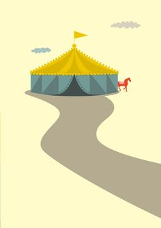"""inspired by the circus theme since seeing """"Water for Elephants"""" (which I highly recommend!)"""