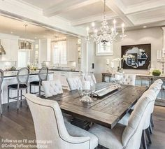 I love this dining room set!