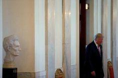 Trump seeks legislative wins to cast off shadow of Russia probes
