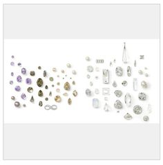New Swarovski Crystal Spring Summer Innovations and Trends Classic Air Color Inspirations  - Gorgeous wedding colors!