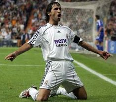 Raul, Real Madrid's legend!!