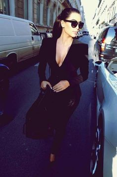 tailored! black on black on black ;)