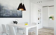 White apartment in Warsaw, Poland / Projekt wnętrza apartamentu w Warszawie