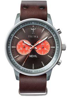 Triwa Nevil Heron Brown Watch | Free Worldwide Shipping