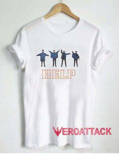 Help Beatles T Shirt Size XS,S,M,L,XL,2XL,3XL