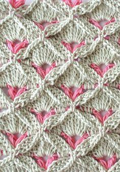 Learn A New Crochet Stitch: Crochet Textured Stitch More