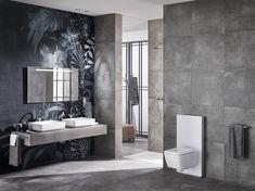 12 fantastiche immagini su bagni con piastrelle grigie bathroom