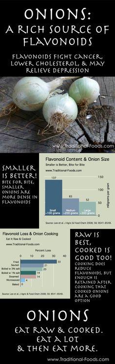 Onion Antioxidants @ Traditional-Foods.com