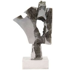 Brutalist Sculpture | From a unique collection of antique and modern sculptures at http://www.1stdibs.com/furniture/more-furniture-collectibles/sculptures/