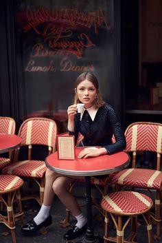 """Paris, Je T'Aime"": Ira Sumbayeav by Vladimir Marti for Cosmopolitan Mexico November 2015"