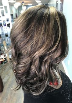 Top 11 Hair Color Ideas for Winter-Spring 2018 with Highlight-Lowlight