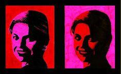 Geef alle leerlingen een dubbele foto van prinses Maxima die geprint is in zwart-wit. Deze moeten met slechts twee kleuren ingekleurd worden: zwart, voor de donkere gedeelten, en een zelfgekozen kleur voor de lichtere delen van het gezicht. Voor de achtergrond wordt een andere kleur gekozen. Bij de tweede foto wisselen ze de gezichts- en achtergrondkleur om. Elke leerling maakt zo twee Maxima's op Warholwijze, die vervolgens op een zwarte ondergrond worden geplakt.