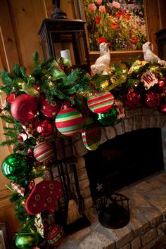 Mantle Christmas