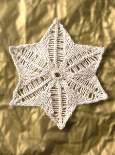 Erastus Snowflake FREE knitting pattern     Berroco