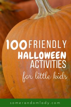 100 friendly Halloween activities for preschool or sensitive little ones. Books and activities, movies, no-carve pumpkin ideas and more! Click through for 100 ideas for friendly Halloween fun. Fairy Halloween Costumes, Halloween Books, Halloween Crafts For Kids, Halloween Activities, Halloween Projects, Halloween Fun, Halloween Decorations, Halloween Worksheets, Halloween Tricks