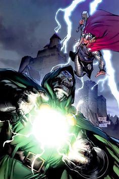 Dr. Doom vs. Thor