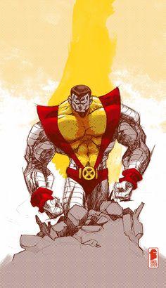 Colossus sketch by nelsondaniel.deviantart.com