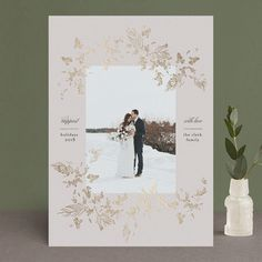 A Festive Christmas Holiday 2019 Designed By Phrosne Ras Christmas Photo Cards, Christmas Photos, Christmas Decor, Holiday Cards, Snow Holidays, Fun Wedding Invitations, Festive, Parties, Stationery Design