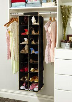 7 Ideias inteligentes para guardar calçado