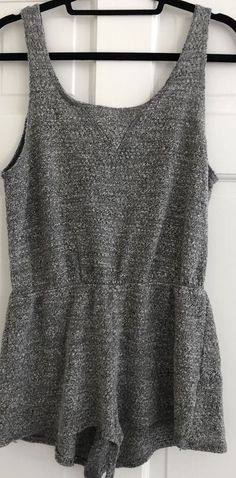 56e9bf240e LNA  Ale  Tank Romper in Heather Gray - Size S  fashion  clothing  shoes   accessories  womensclothing  jumpsuitsrompers (ebay link)