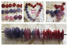 Disc beads in the Etsy shop!!