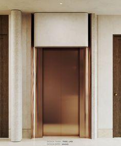 Lobby Interior, Interior Stairs, Interior Design, Lift Design, Door Design, Design Design, Elevator Lobby Design, Cladding Design, Stair Lift