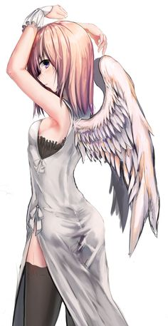 Love it!!!!! I like the angel in black thing but if she had a gun in her hand and look a little more feirce it may just look like me (without the gun of course) But I thinks she looks awesome!!! I wish i could draw like that