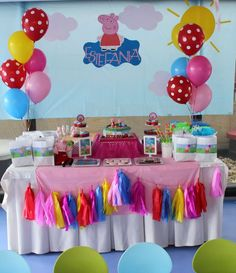 Peppa Pig Birthday Party Ideas | Photo 3 of 25 | Catch My Party