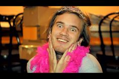 """""""It's not called being gay, it's called being fabulous!"""" - Pewdiepie (who is NOT gay). Love him. :)"""