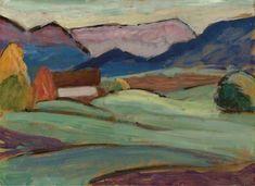 Gabriele Münter, Landschaft