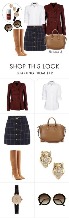"""""""Dear fall // Querido otoño"""" by renata-jim on Polyvore featuring moda, Gucci, Steffen Schraut, Givenchy, Ralph Lauren Collection, Kate Spade, Barbour y H&M"""