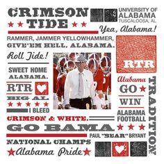 Alabama Crimson Tide! RTR!