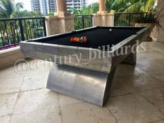 Outdoor Pool Tables Long Island New York Century Billiards Custom Pool Tables Outdoor Pool Table Pool Table