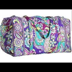 4 Vera Bradley Large Duffle Bags