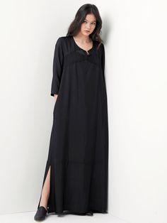 Christmas sale /Black Dress / Maxi Dress / Women by YaelAdmoni
