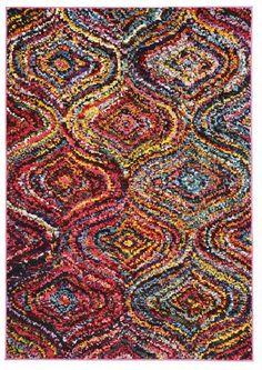 Chindi Modern Multi Coloured Rug