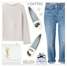 """""""Loafers"""" by simona-altobelli ❤ liked on Polyvore featuring Helmut Lang, Chiara Ferragni, Yves Saint Laurent, Kate Spade, Chanel, loafers, MyStyle and polyvorecontest"""