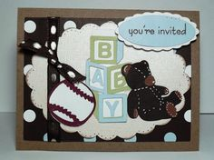 Baby Shower : Modern 3D and Pop Up Baby Shower Invitations Ideas - Fascinating 3D Teddy Bear Baby Shower Invitation Ideas