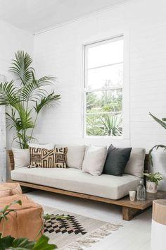 27 Sweet and Cozy Living Room Interior Ideas – – Sofa Design 2020 Diy Furniture Sofa, Diy Living Room Furniture, Cozy Living Rooms, Living Room Interior, Home Interior Design, Living Room Decor, Furniture Design, Furniture Ideas, Interior Ideas