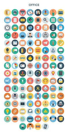 30 categories of flat vectors in a single icon bundle of elements. Icon Design, Flat Design Icons, Web Design, Graphic Design, Flat Icons, Powerpoint Icon, Icons Web, Vector Icons, Halloween Icons