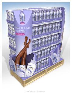 Point of Purchase Design   POP Design   POS Design   Health & Beauty POP   by Darren Gould at Coroflot.com