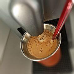 Guten Morgen…den B-Day mit dem Lieblings #Kaffee starten…#Arpeggio von @Nespresso😊😎 #whateles