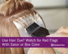 Could your #hair dye be causing health issues? #hairdye