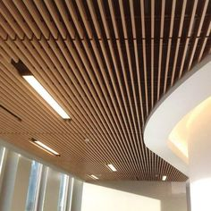 Image 1 of 8 from gallery of Linear Wood and Grille Ceilings   Decoustics.