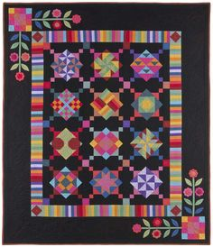 Quilt Kits : Amish With a Twist I Kit | Nancy Rink Designs