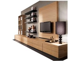 Find your sideboard easily amongst the products from the leading brands (Lema, MDF Italia, Poliform, .) on ArchiExpo, the architecture and design specialist for your professional purchases. Lcd Units, Modern Tv Wall Units, Bedroom False Ceiling Design, Tv Wall Decor, Living Room Tv, Wooden Walls, Interior Design, Furniture, Tvs