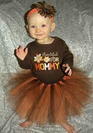 Cutest turkey dress