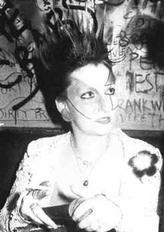 Jordan. She was credited with creating the W10 London Punk look. IMAGINE creating a whole look that people are still following to the letter today!!! Jordan and Soo Catwoman are SUCH winners!